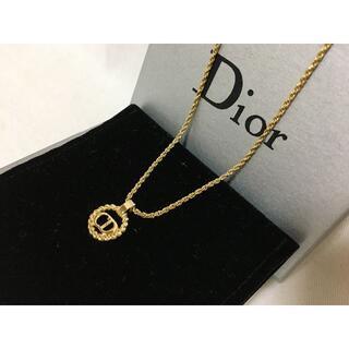 Christian Dior - 374Christian Dior ディオール♪CDロゴネックレスゴールド