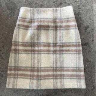 マジェスティックレゴン(MAJESTIC LEGON)の新品 MAJESTICLEGON チェック柄スカート(ひざ丈スカート)