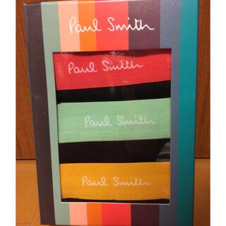 ポールスミス(Paul Smith)の新品  ポールスミス ボクサーパンツ Mサイズ 3枚 箱あり未開封(ボクサーパンツ)