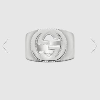グッチ(Gucci)のGUCCI インターロッキングGシルバーリング(リング(指輪))