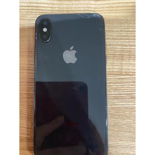 アップル(Apple)のiPhone X 64Gau限定 液晶割れあり(スマートフォン本体)