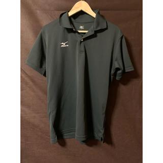 ミズノ(MIZUNO)のミズノ ポロシャツ ウェア ブラック L(ウェア)
