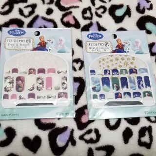 ディズニー(Disney)の☆SALE☆アナ雪ネイルシールセット(ネイル用品)