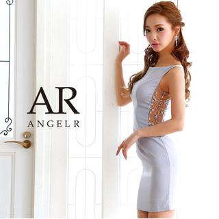 AngelR - ar8325/新品/エンジェルアール/AngelR/サイドシアーパールミニドレス