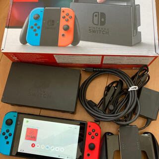 Nintendo Switch - Nintendo Switch JOY-CON(L) /(R) 本体セット 中古