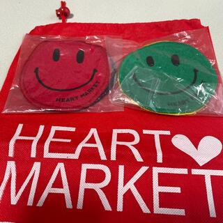 ハートマーケット(Heart Market)のハートマーケット ☆非売品コースター4枚おまけ付き(テーブル用品)