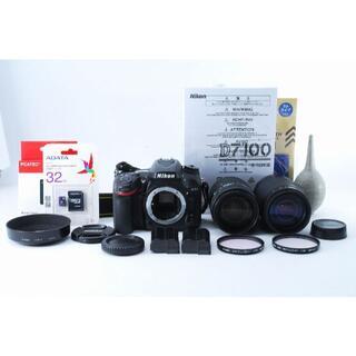 ニコン(Nikon)の656MR 保証有 ショット少 Nikon D7100 超望遠対応ダブルズーム(デジタル一眼)