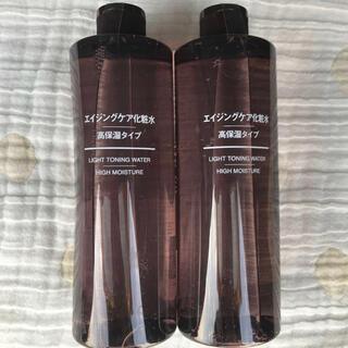 MUJI (無印良品) - 2️⃣本🕊無印良品エイジングケア化粧水400ml