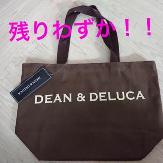 DEAN & DELUCA - 大人気色★残り僅か★DEAN&DELUCA トートバッグ 大 ブラウン訳あり