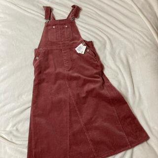 fig London - fig London コーデュロイジャンパースカート