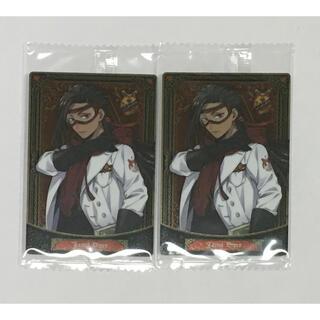 ツイステッドワンダーランド ウエハース カード3 実験服 ジャミル・バイパー(キャラクターグッズ)