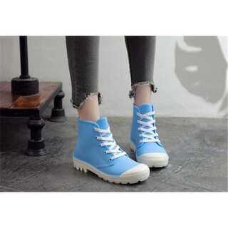 大人になる 水靴 防水 ストラップ 滑り止めの靴 レインシューズ(レインブーツ/長靴)