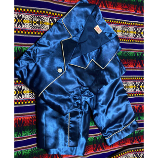 シルク パジャマ ブルー フレグランスセット(パジャマ)