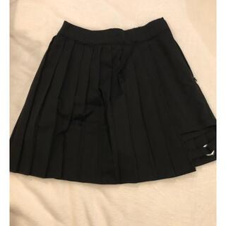 ウィゴー(WEGO)のWEGO フレアミニスカート ブラック(ミニスカート)