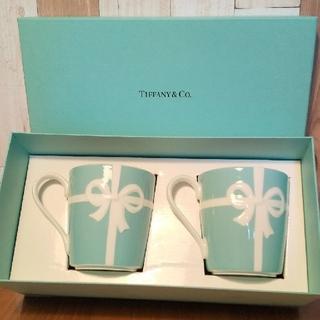Tiffany & Co. - 新品未使用ティファニー☆ペアマグカップ