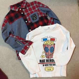 クレードスコープ(kladskap)のシャツ120サイズ(Tシャツ/カットソー)