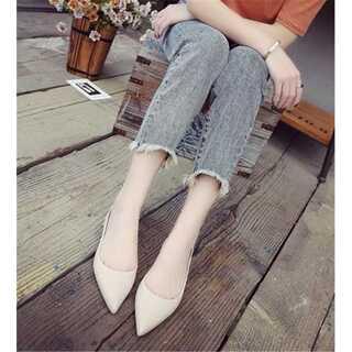大人になる 水靴 防水 ポインテッドトゥ 滑り止めの靴 レインシューズ(レインブーツ/長靴)