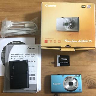 キヤノン(Canon)のCanon PowerShot A POWERSHOT A2400 IS BL(コンパクトデジタルカメラ)