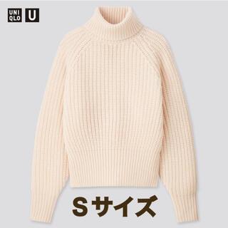 ユニクロ(UNIQLO)のローゲージタートルネックセーター(長袖)(ニット/セーター)