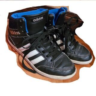 アディダス(adidas)のadidas◎ハイカットスニーカー◎21cm◎男女兼用(スニーカー)