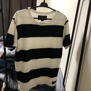 ネイバーフッド(NEIGHBORHOOD)のボーダー Tシャツ(Tシャツ/カットソー(半袖/袖なし))