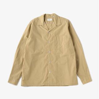 ユナイテッドアローズ(UNITED ARROWS)のUNITED ARROWS オープンカラーシャツ ベージュ XL(シャツ)