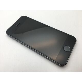 アップル(Apple)のau iPhone5s A1453 スペースグレイ 16GB◆美品◆401(スマートフォン本体)