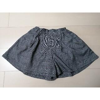GU - キュロット パンツ スカート チェック柄 フォーマルにも