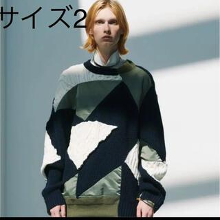 サカイ(sacai)のサイズ2 sacai  21ss ニット セーター 値下げ不可(ニット/セーター)