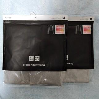 ユニクロ(UNIQLO)のユニクロ  アレキサンダーワンヒートテック リブクルーネックT Lサイズ(アンダーシャツ/防寒インナー)