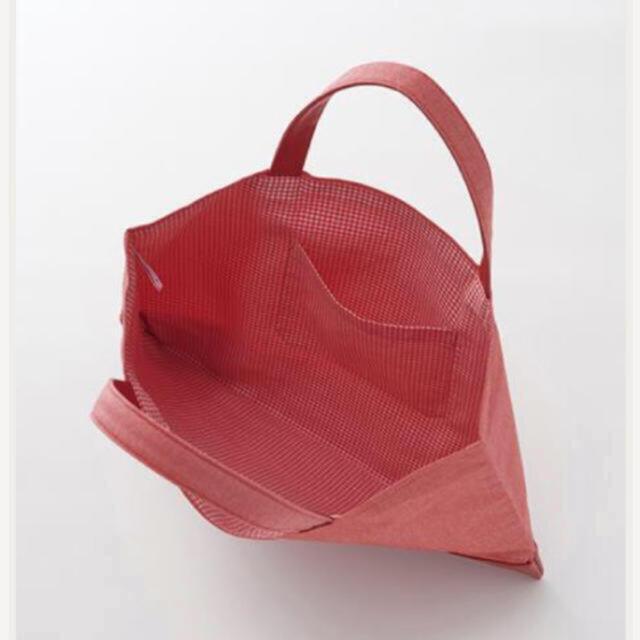 familiar(ファミリア)の新品・タグつき ファミリア デニムバッグ キッズ/ベビー/マタニティのこども用バッグ(レッスンバッグ)の商品写真