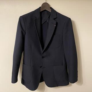 ザラ(ZARA)の美品 ZARA MAN ザラ テーラードジャケット メンズ スーツ ネイビー(テーラードジャケット)
