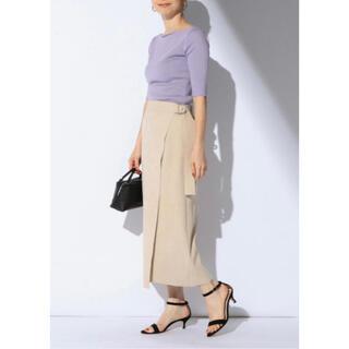 Demi-Luxe BEAMS - デミルクスビームス■スエード風ラップスカート
