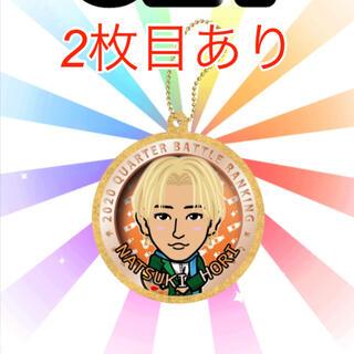 EXILE TRIBE - 堀夏喜 グリッターキーホルダー缶バッジ