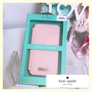 ケイトスペードニューヨーク(kate spade new york)のケイトスペード ケイトスペイド iPhoneXR 手帳型 ケース アイフォン (iPhoneケース)