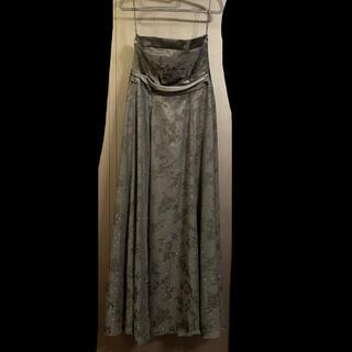 黒ロングドレス(ロングドレス)