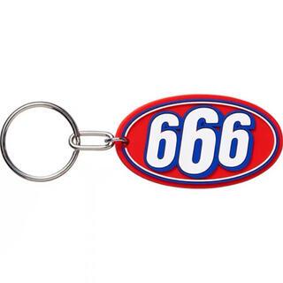 シュプリーム(Supreme)のSupreme 17SS 666 Rubber Keychain キーホルダー(キーホルダー)
