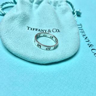 ティファニー(Tiffany & Co.)のティファニー TIFFANY アトラス リング 指輪 シルバー 925(リング(指輪))