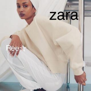 ザラ(ZARA)のzara ミニマリスト スウェットシャツ  スウェット ザラ(トレーナー/スウェット)