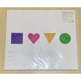 ニュース(NEWS)のNEWS 10th Dome 初回仕様【新品未開封】(ミュージック)