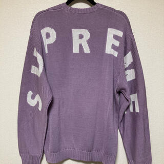 Supreme - シュプリームの20SS Back Logo Sweater セーター