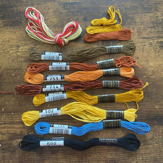 OLYMPUS - 刺繍糸セット 8束+α OLYMPUS COSMO