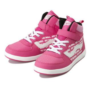 ヴァンズ(VANS)のvans スニーカー 運動靴 22㎝ ピンク(スニーカー)