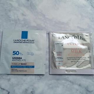 ランコム(LANCOME)のランコム トーンアップローズ&ラロッシュポゼ トーンアップローズ サンプルセット(化粧下地)