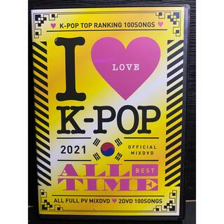 I Love K POP 2021 ALL TIME!Kポップ2枚組DVD(ミュージック)