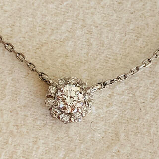 Vendome Aoyama - VA ヴァンドーム青山 プラチナ ダイヤモンド ネックレス 未使用に近い