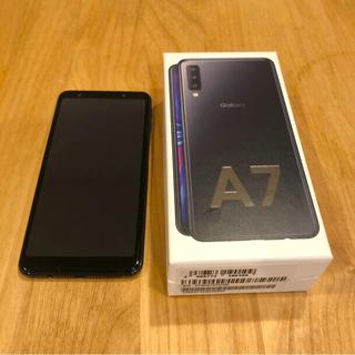 ギャラクシー(Galaxy)のGalaxy A7 64GB Black(スマートフォン本体)
