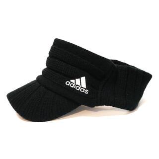 アディダス(adidas)のアディダス サンバイザー ニット帽 ゴルフ adidas(ウエア)
