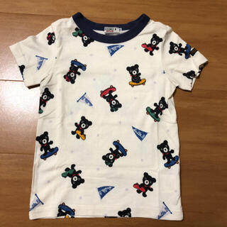 DOUBLE.B - ミキハウス ダブルビー 総柄 Tシャツ 半袖 110