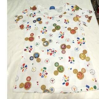 ディズニー(Disney)の未使用★ディズニーシー15周年プリント★レディース半袖トップス(Tシャツ(半袖/袖なし))